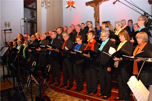 Benefizkonzert der Singing Voices