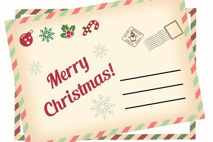 Weihnachtsgrüße Per Post.Wir Kümmern Uns Um Ihre Xmas Post